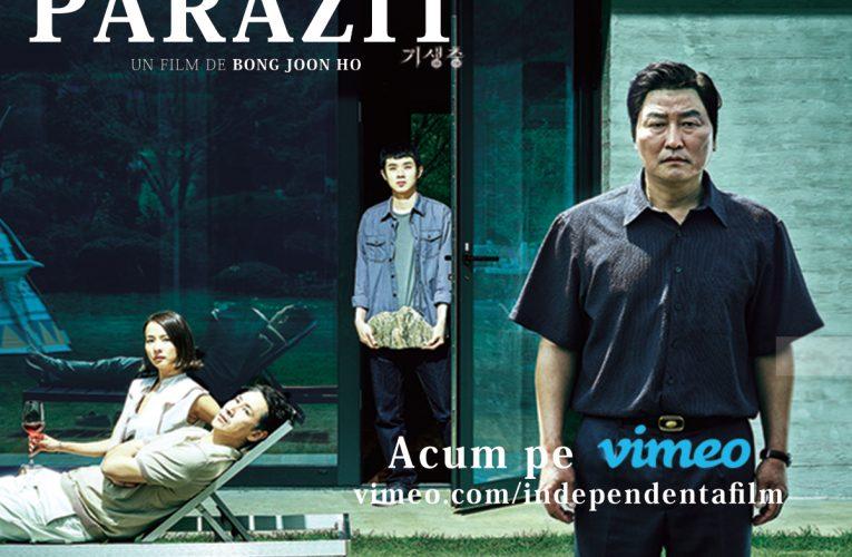Independența Film vine la tine acasă cu Parazit și alte filme premiate cu Palme d'Or