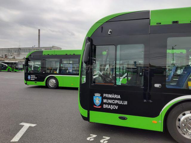 Primele autobuze și troleibuze electrice în Brașov