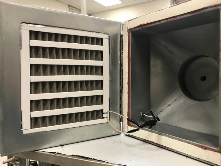 filtru de aer capabil să capteze COVID-19