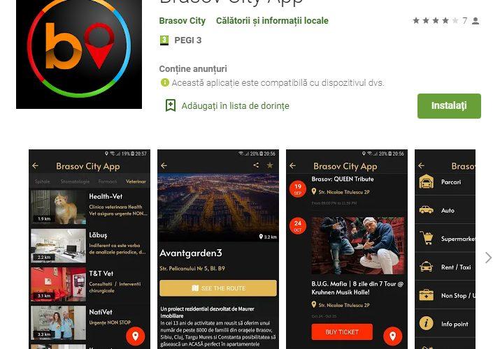 Brasov City App – Prima aplicație de tip living & travel din România