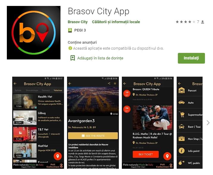 Brasov City App