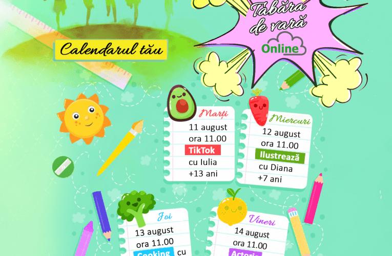 Tabără de vară Corint Junior online gratuit pentru copiii