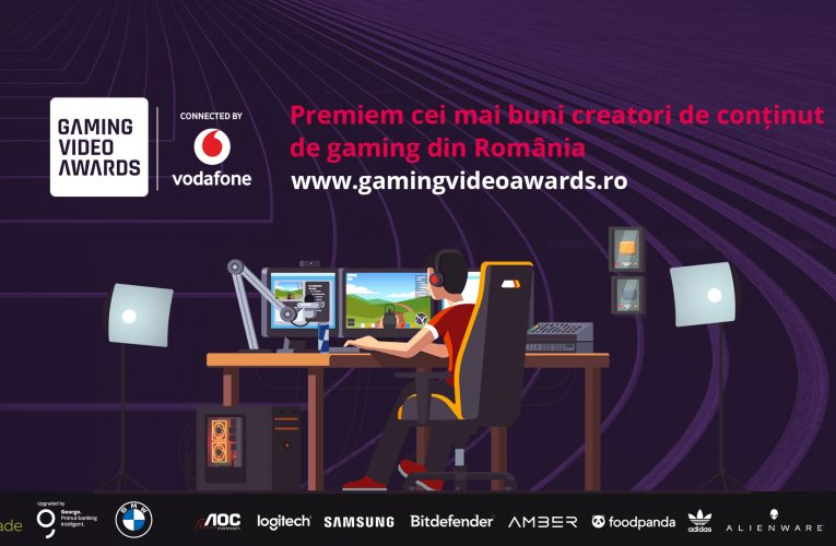 A început Gaming Video Awards connected by Vodafone
