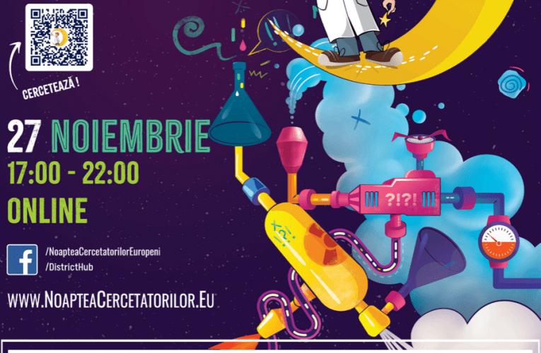 District Hub și Coresi Shopping Resort organizează Noaptea Cercetătorilor Europeni Brașov 2020