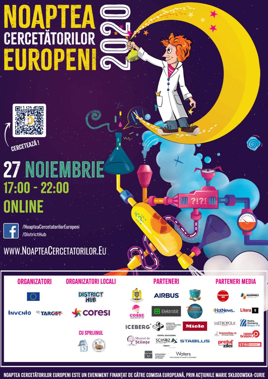 Noaptea Cercetătorilor Europeni Brașov 2020
