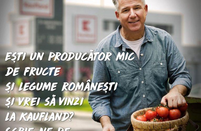 Kaufland România oferă spațiu în magazine pentru producătorii locali