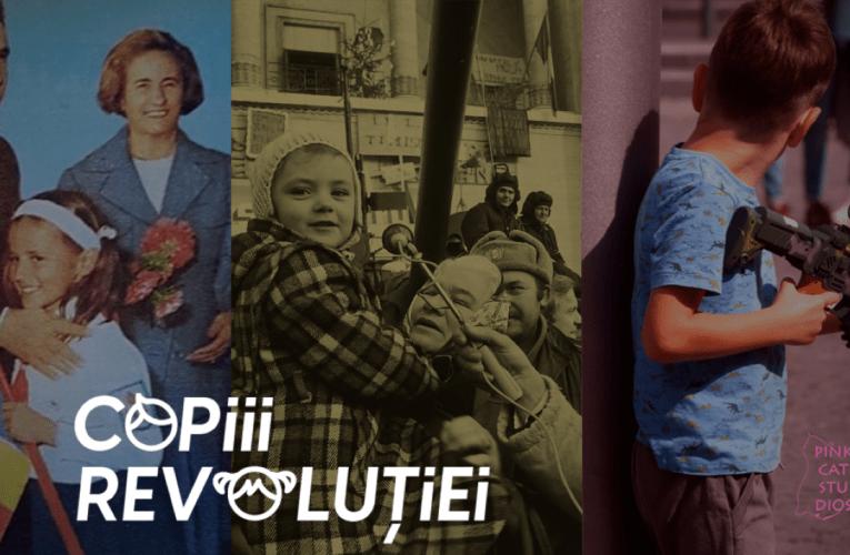 A fost lansată platforma Copiii Revolutiei – interviuri cu părinții revoluționari și copiii acestora