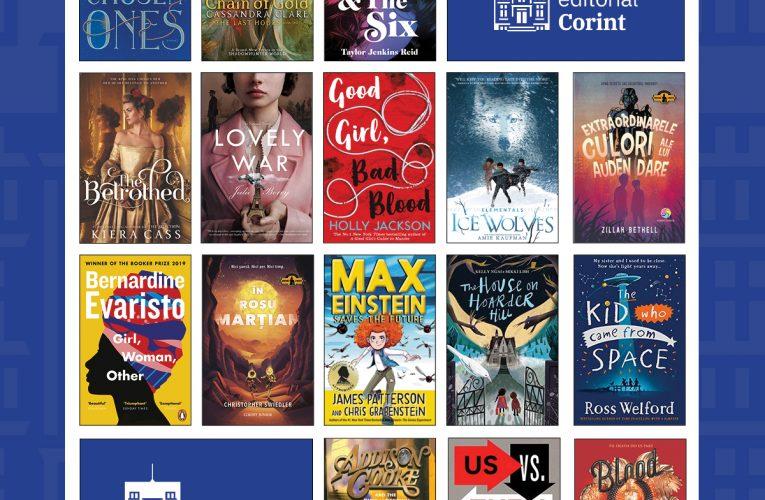 Cele mai așteptate 21 de cărți ale Grupului Editorial Corint pentru 2021