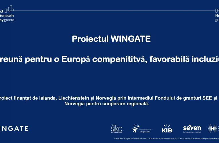 WINGATE – un proiect care oferă susținere femeilor antreprenor