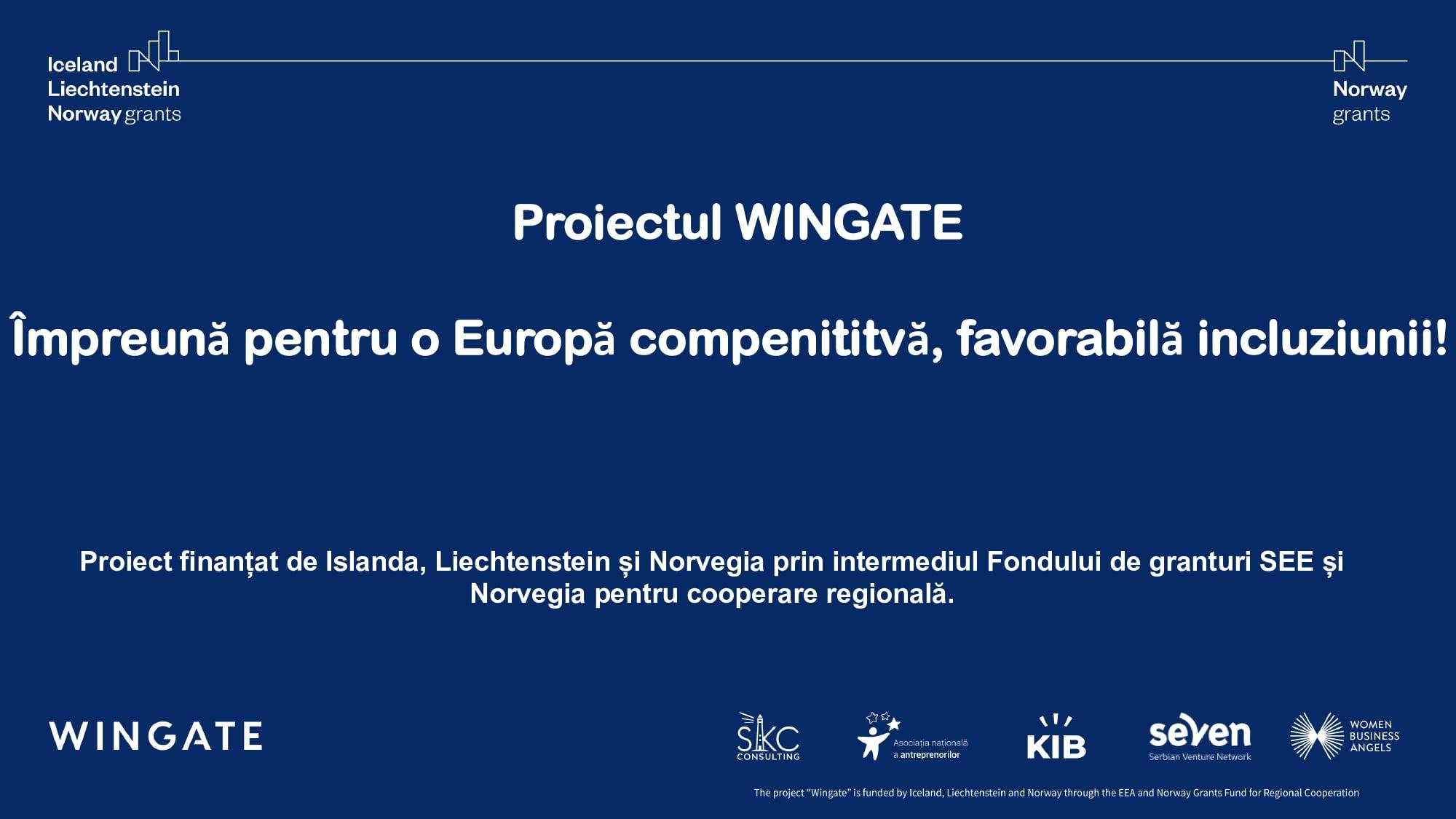 Wingate - comunicat anaa focus grup