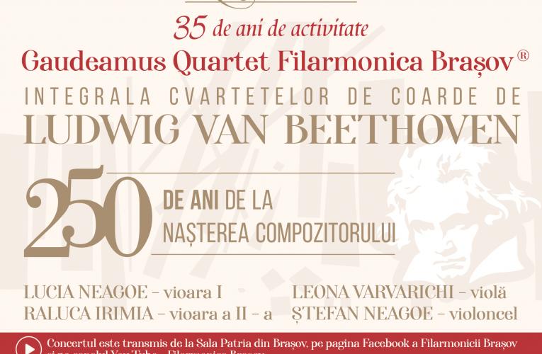 Gaudeamus Quartet – realizare unică în România!