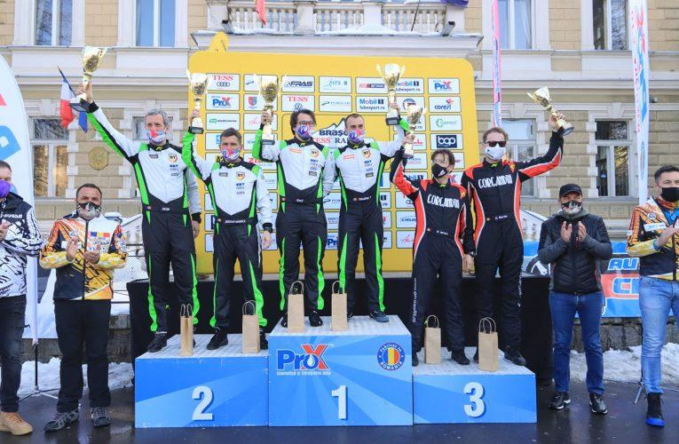 Simone Tempestini a câștigat cea de-a cincizecea ediție a Raliului Brașovului