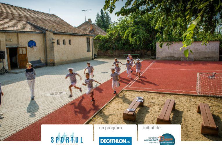 Sportul pentru toți – programul care pune în mișcare comunități din București și Brașov