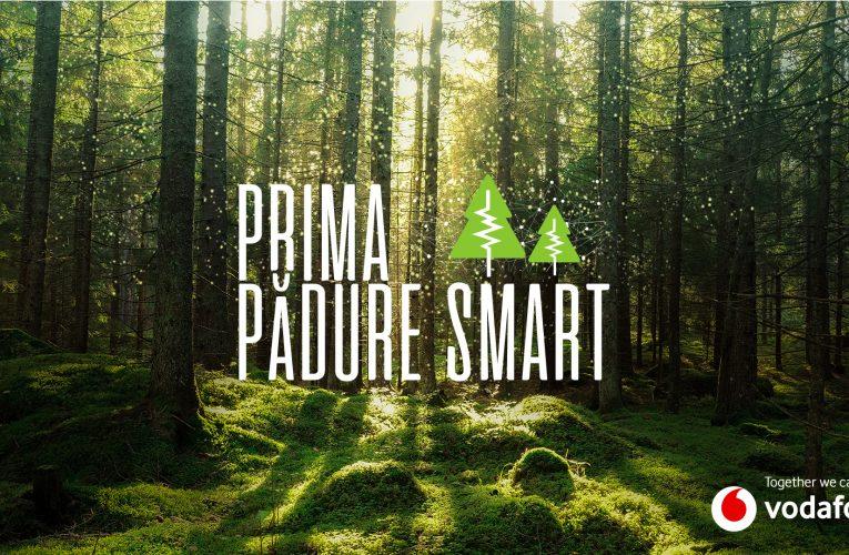 Vodafone pune în funcțiune prima pădure inteligentă din România