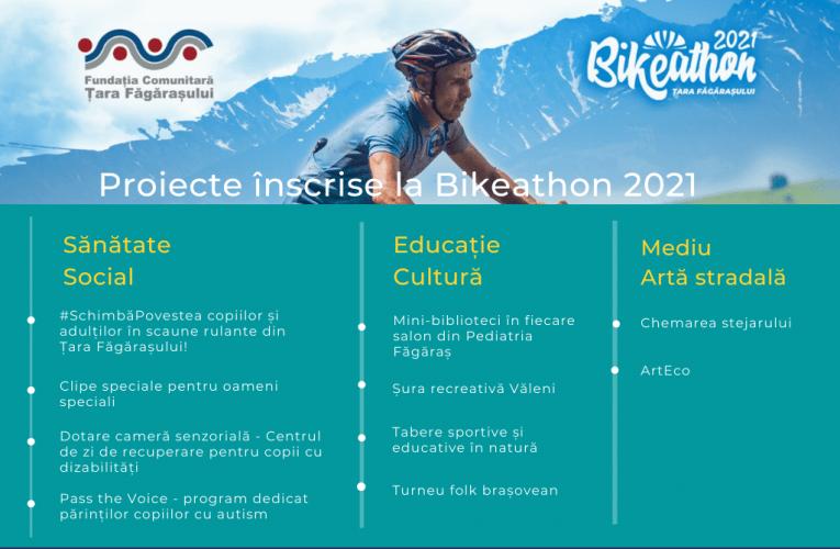 Bikeathon Țara Făgărașului – 10 proiecte comunitare pentru care să pedalezi în septembrie!