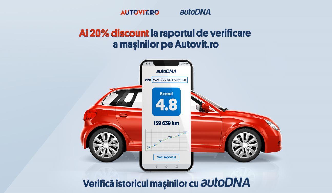 Utlizatorii Autovit.ro pot verifica acum istoricul mașinilor