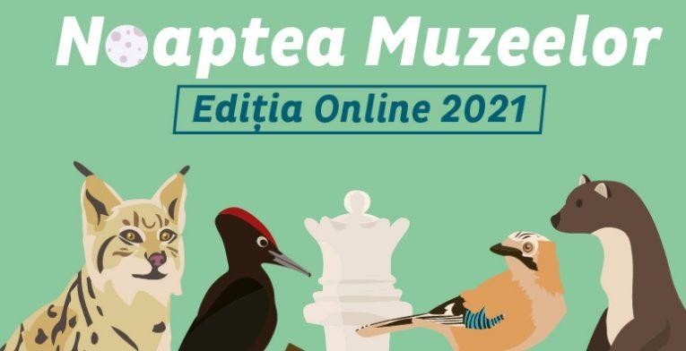 În cadrul evenimentului Noaptea Muzeelor la Antipa, copiii pot participa la ateliere și prezentări ale specialiștilor on-line