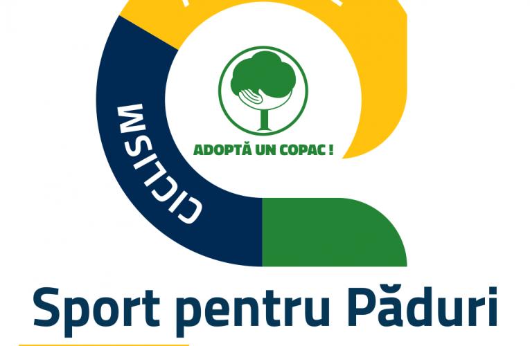 Alergătorii și bicicliștii pot contribui la creșterea suprafeței împădurite din România