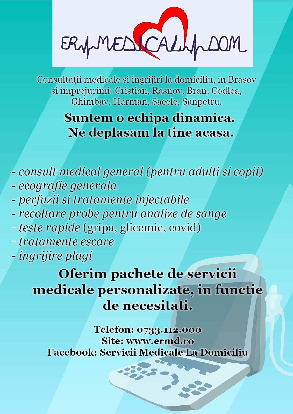 ER MEDICAL DOM - servicii medicale la domiciliu