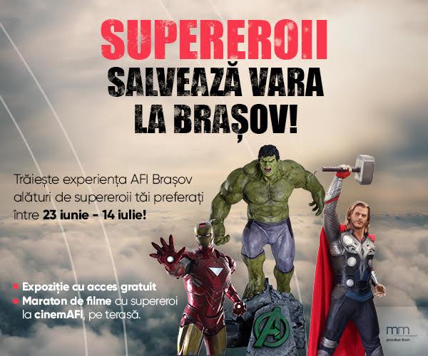 filme cu supereroi la cinemAFI