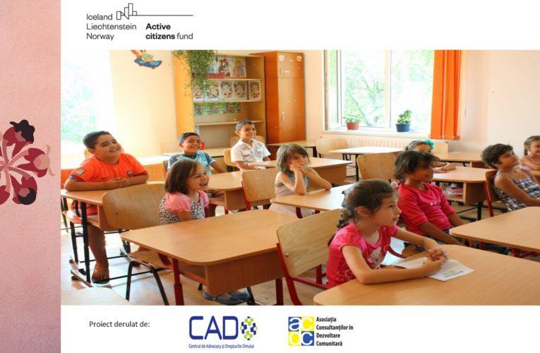A fost lansat proiectul monitorizării segregării școlare care se va desfășura în 880 de localități din 11 județe