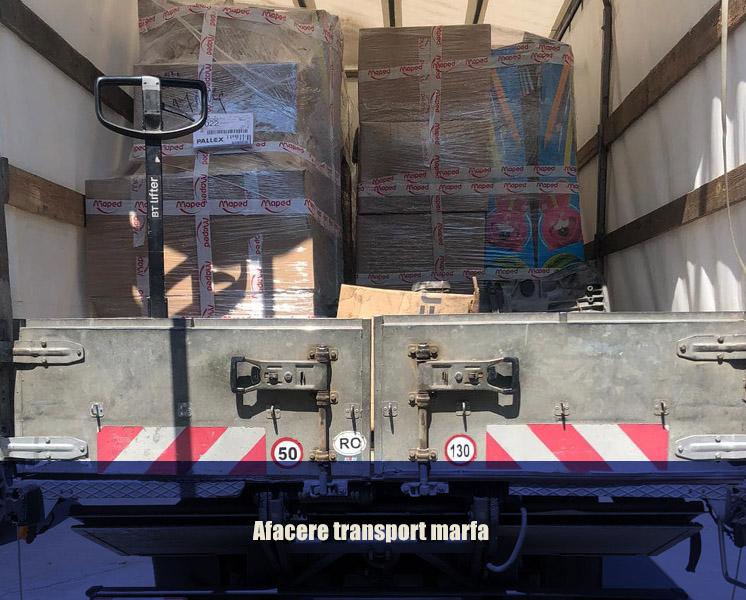 afacere transport marfa
